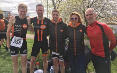Triathlon Race Team starts the season with a good showing at East Leake Triathlon