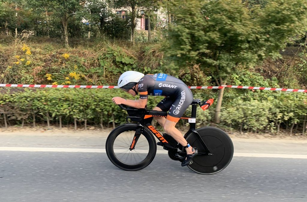 Challenge Anhui the first taste of Iron distance racing for Tom Davis